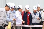 Lãnh đạo tỉnh Thái Bình, lãnh đạo Petrovietnam kiểm tra tiến độ Dự án NMNĐ Thái Bình 2