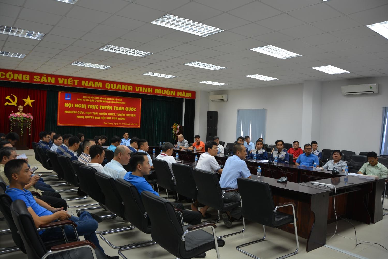 Petrovietnam học tập, quán triệt nghị quyết Đại hội XIII