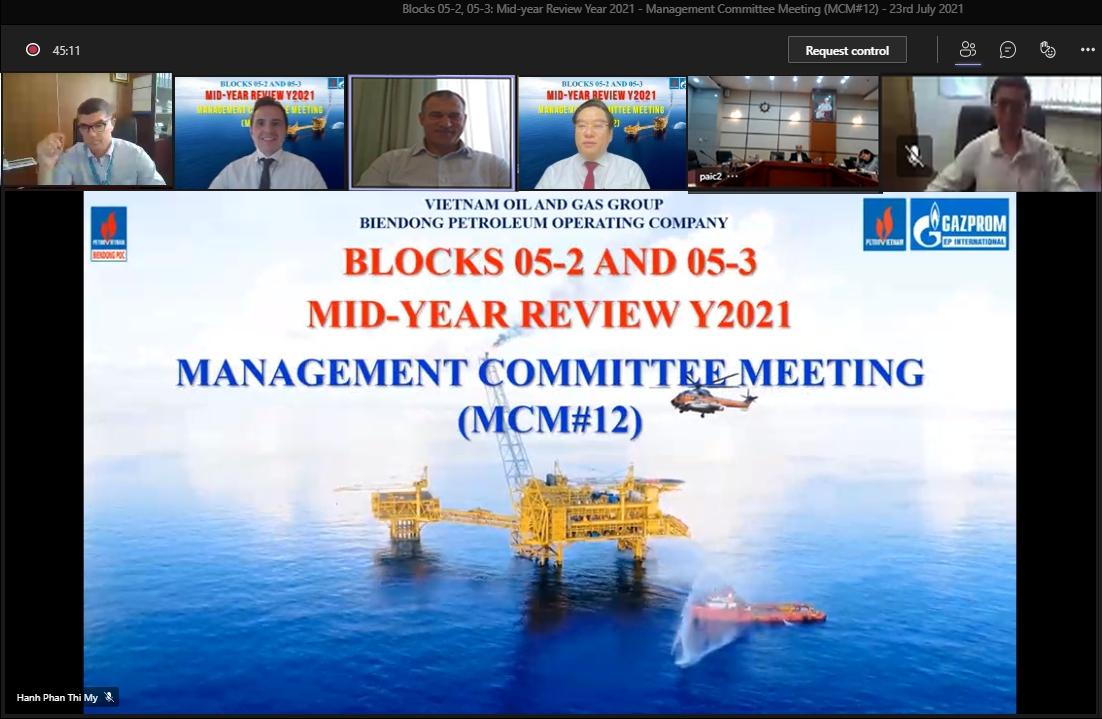 BIENDONG POC tổ chức thành công kỳ họp MCM lần thứ 12