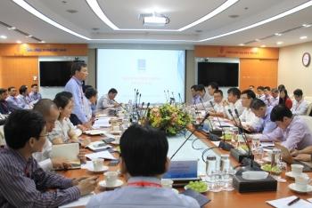 Tổng giám đốc PVN Lê Mạnh Hùng làm việc với PV GAS