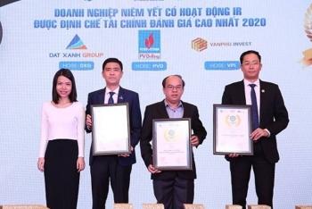 PV Drilling được vinh danh Doanh nghiệp niêm yết có hoạt động Quan hệ nhà đầu tư tốt nhất 2020