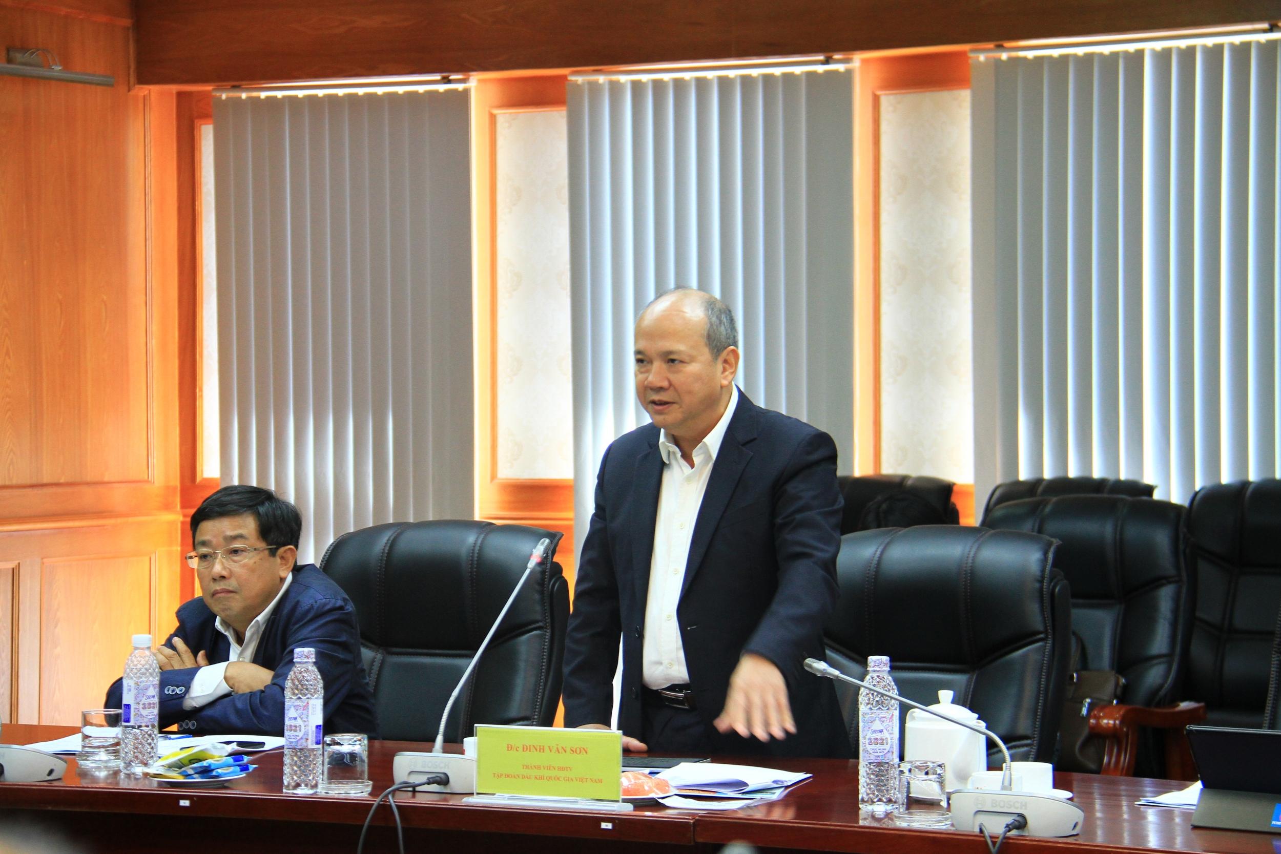 Chủ tịch HĐTV Petrovietnam Hoàng Quốc Vượng: Vietsovpetro phải là đơn vị dẫn dắt thị trường năng lượng