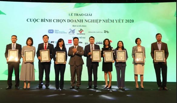 PV Drilling vinh dự đạt giải thưởng Báo cáo thường niên tốt nhất 2020 – Nhóm vốn hóa lớn