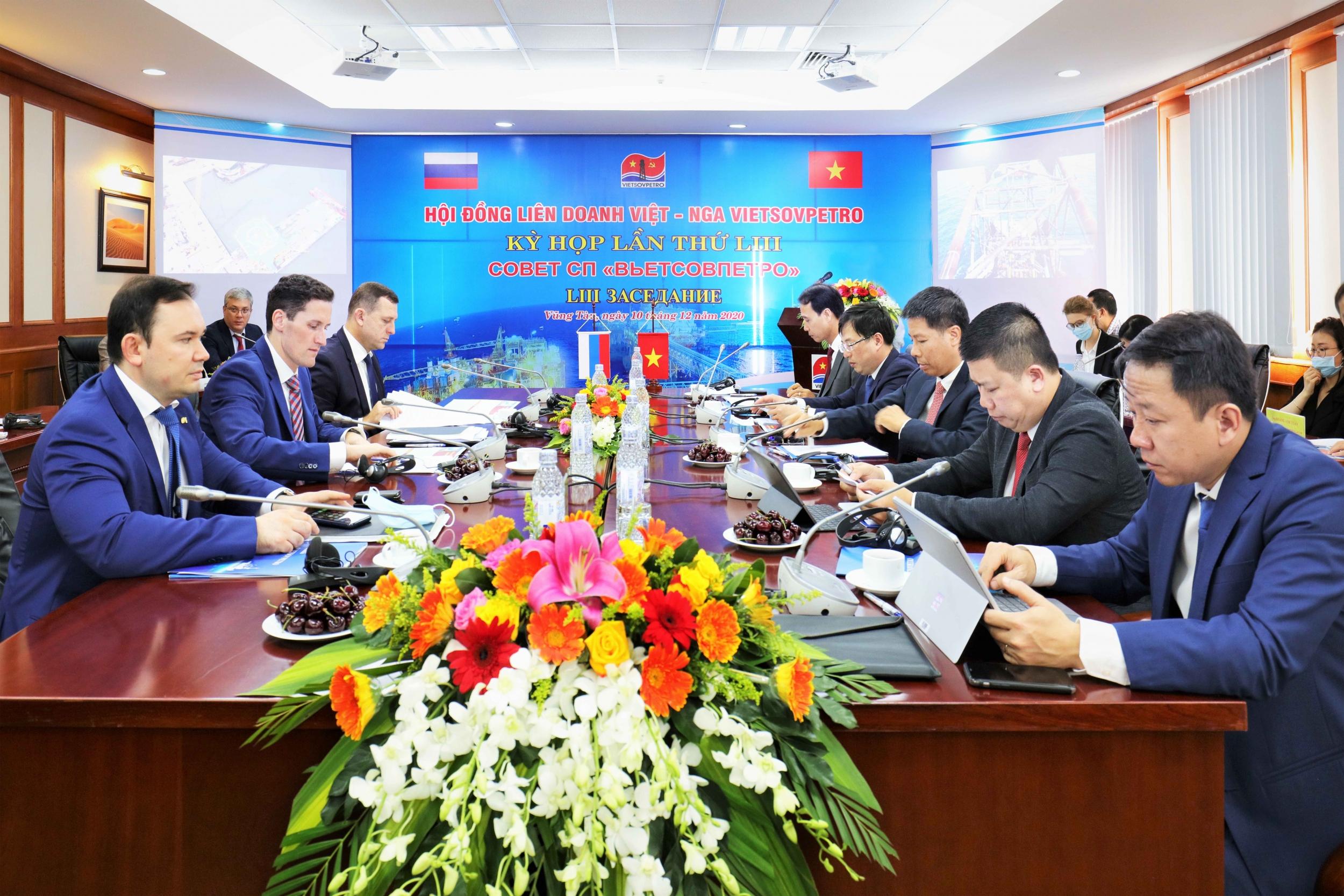 Kỳ họp Hội đồng Liên doanh Việt - Nga Vietsovpetro lần thứ 53 thành công tốt đẹp