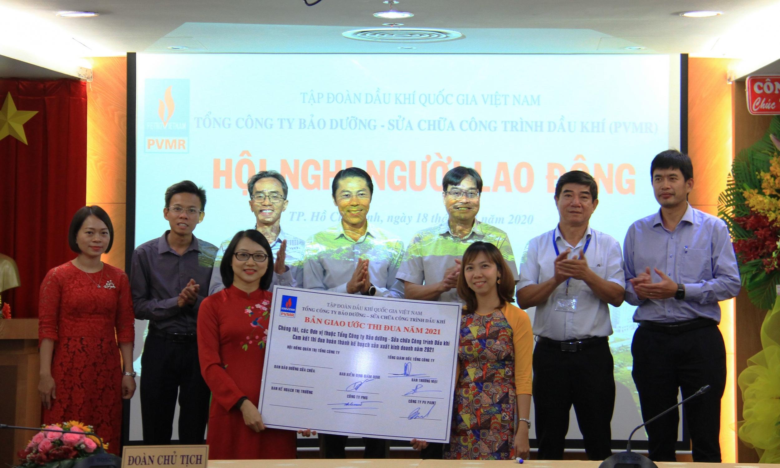 PVMR tổ chức thành công Hội nghị Người lao động năm 2021