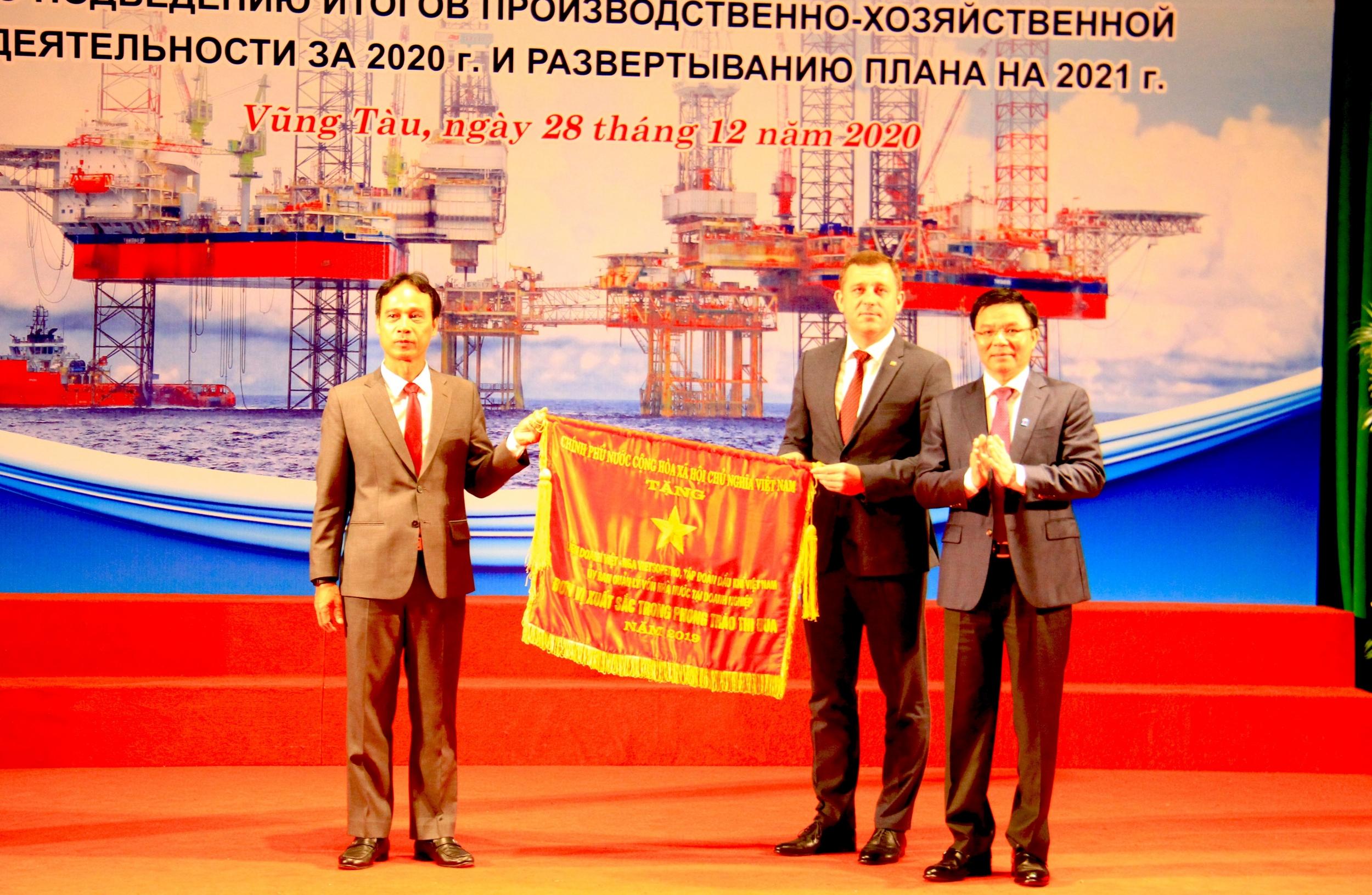 Vietsovpetro hoàn thành tốt các chỉ tiêu, nhiệm vụ kế hoạch năm 2020