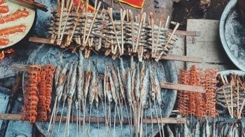 Cá nướng Ba Bể: Món ăn khiến thực khách không thể quên