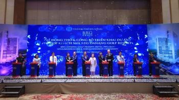 Tập đoàn BRG động thổ triển khai Dự án Tổ hợp Khách sạn BRG Danang Golf Resort