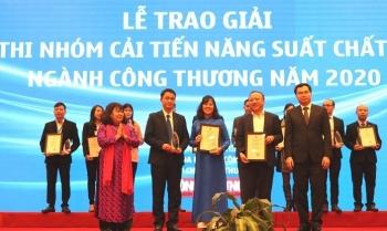 EVNNPC giành Giải Á quân cuộc thi Nhóm cải tiến năng suất chất lượng ngành Công thương