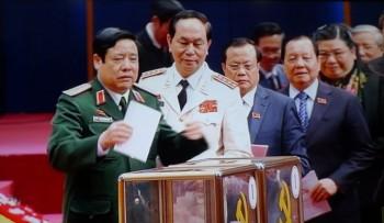 Bỏ phiếu bầu Ban Chấp hành Trung ương Đảng khóa XII