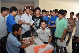 PVC-MS tổ chức ngày hội hiến máu nhân đạo