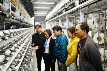 Công đoàn PVFCCo thăm và làm việc với Công đoàn VNPOLY