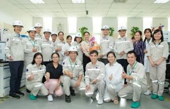 Lãnh đạo PVCFC thăm và chúc Tết CBCNV các khối phòng ban