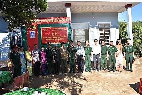 pvfcco trao tang nha nghia tinh dong doi tai binh phuoc