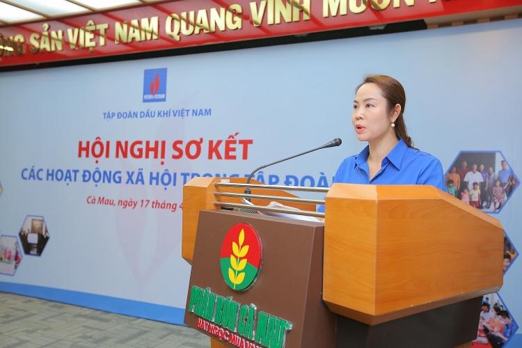 Sơ kết các hoạt động xã hội trong Petrovietnam: Tự hào hình ảnh người lao động Dầu khí Việt Nam