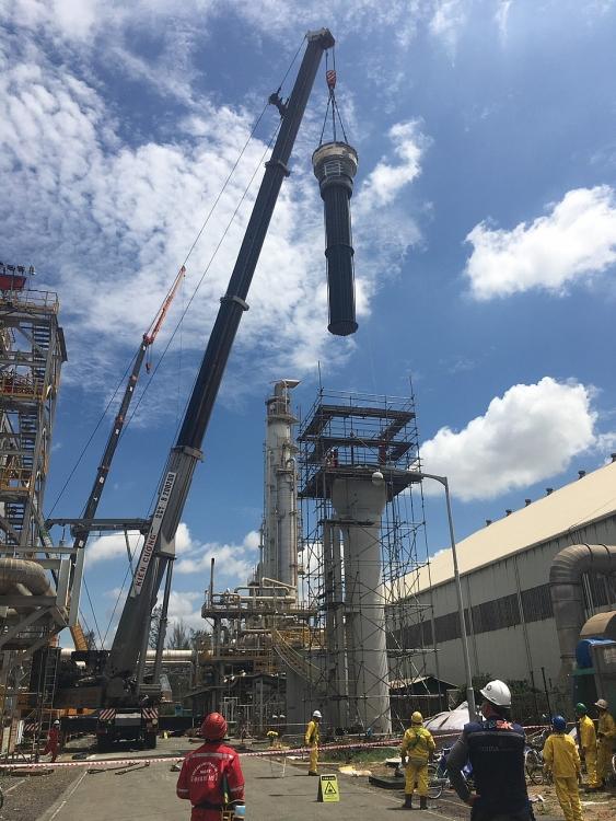 Nhà máy Đạm Phú Mỹ xuất sắc hoàn thành đợt BDTT định kỳ 2021