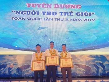 """PVFCCo: 3 kỹ sư trẻ được vinh danh """"Người thợ trẻ giỏi"""" toàn quốc lần thứ X"""