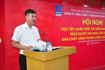 PVFCCo tổ chức học tập, quán triệt và triển khai Nghị quyết Trung ương 7