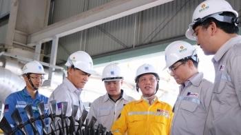 Tổng giám đốc PVN Lê Mạnh Hùng làm việc tại cụm Khí - Điện - Đạm Cà Mau