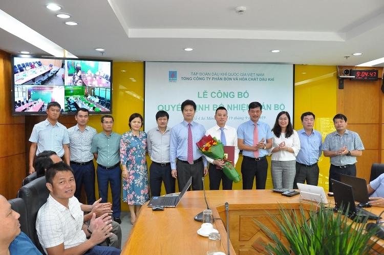 PVFCCo công bố quyết định bổ nhiệm Phó Tổng giám đốc