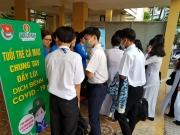 Đạm Cà Mau tài trợ phòng chống dịch Covid-19 tại các trường học