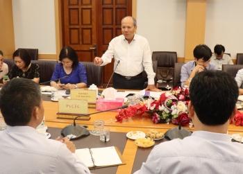 Đoàn Giám sát thường kỳ của PVN làm việc tại PVCFC