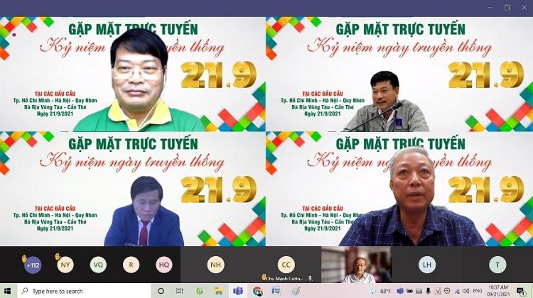 Gặp mặt trực tuyến kỷ niệm Ngày truyền thống PVFCCo: Xúc động, tự hào!
