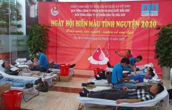 """Đoàn thanh niên PVFCCo, PVTrans tổ chức """"Ngày hội hiến máu tình nguyện 2020"""""""