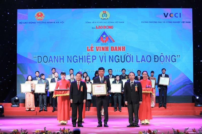 pvfcco lan thu 3 duoc vinh danh doanh nghiep vi nguoi lao dong