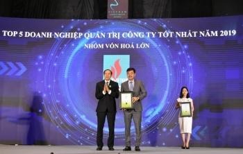 pvfcco duoc vinh danh doanh nghiep quan tri cong ty tot nhat nam 2019