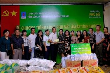 """""""Cùng Phú Mỹ - Ấm áp tình thương"""" đến Quảng Nam"""