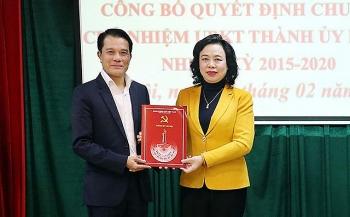 Hà Nội có tân Chủ nhiệm Ủy ban Kiểm tra Thành ủy