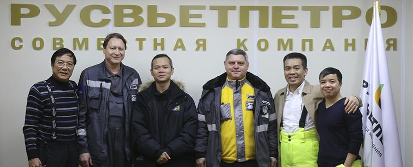 Đội ngũ người lao động Việt Nam, LB Nga trong Liên doanh RUSVIETPETRO