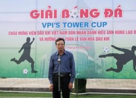 khai mac giai bong da vpi tower cup 2012