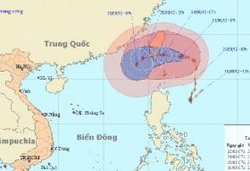 Đêm nay siêu bão Tembin vào biển Đông