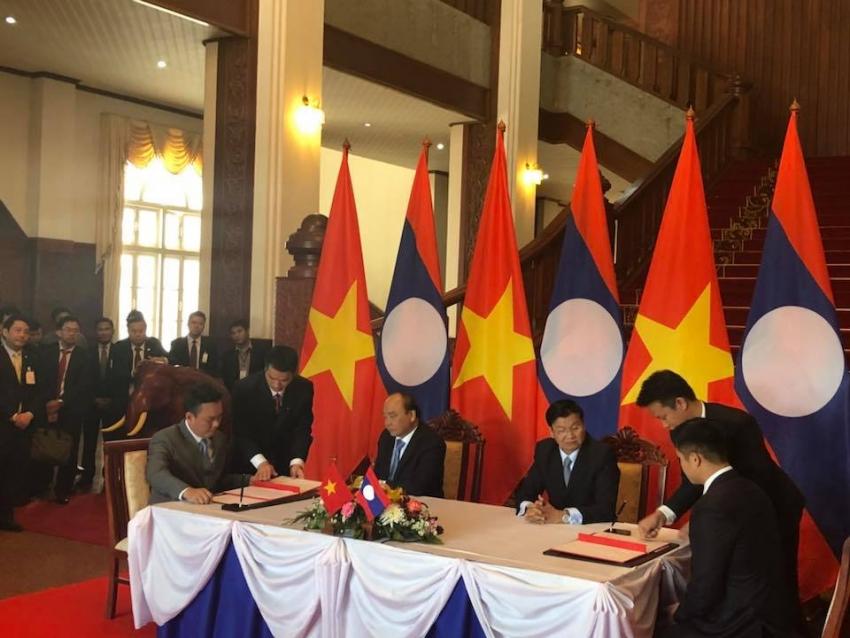pv power tham du ky hop lan thu 40 uy ban lien chinh phu viet nam lao