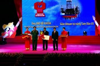 Tổng Liên đoàn LĐVN vinh danh công trình dầu khí
