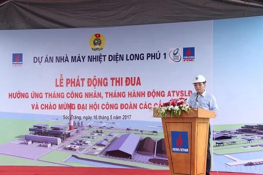 phat dong thi dua tai du an nha may nhiet dien long phu 1