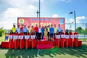 Hội thao ngành Dầu khí khu vực Đồng bằng sông Cửu Long năm 2017