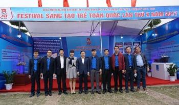 """Đoàn Thanh niên Tập đoàn DKQGVN tham dự triển lãm """"Tuổi trẻ sáng tạo 2017"""""""
